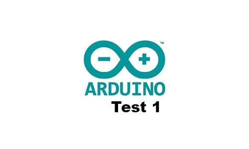 Divers test Arduino